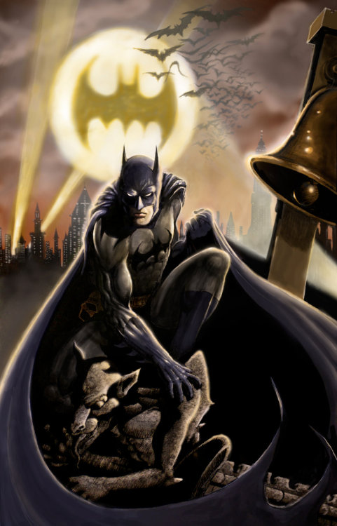 andresisbatman:  Batman - The Dark Knight by ~iangoudelock
