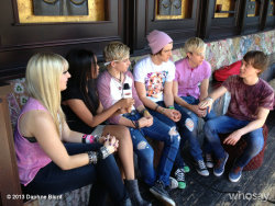 Interviewing R5 at the House of Blues!  View more Daphne Blunt on WhoSay
