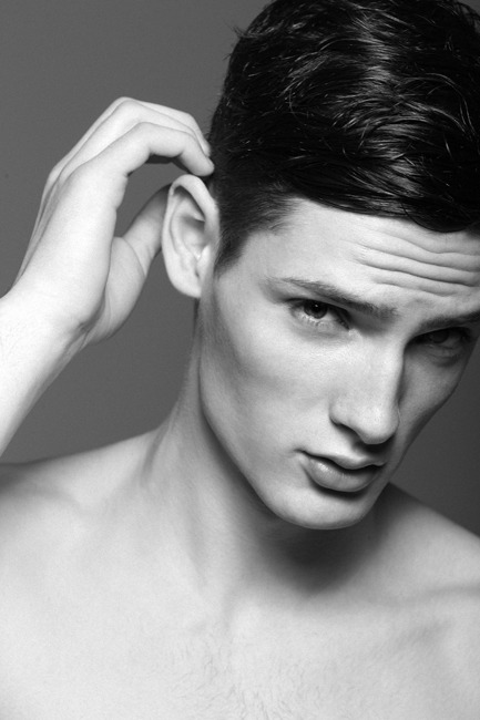 Kristian at Wam models