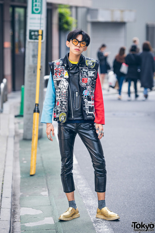Harajuku Japanese fashion Percy Lau Saint Laurent Japanese streetwear