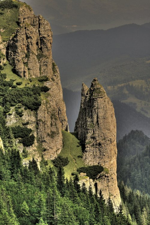 unwrittennature:  ceahlau mountain hdrby ~iacobvasile