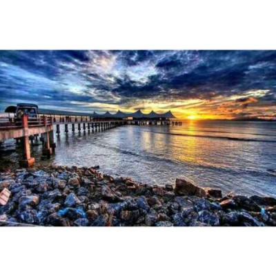Ocean Glow Putra Brasmana..a very beautiful scenary with my friends… #oceanglow #ocean #perlis #KualaPerlis #sunset #sunsetbeach #putrabrasmana #beach #seaview #beautiful #scenary #malaysia #seascape #landscape #skyview #skyscape #seaviewresort #view #port #skypaint #building #awesome #hdr #picoftheday #instafriend #instalike #instaplace #instamood #instamania #instaday #instaphoto #instagood #instacool #instapic #loveit #iloveutara #instaview  (at Ocean Glow Putra Brasmana Kuala Perlis)