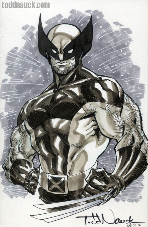 Wolverine. 80's X-Men.My favorite Wolverine costume.Copic sketch marker, Pentel pocket brush pen, & Pigma Micron markers.Learn more about COPIC markers.