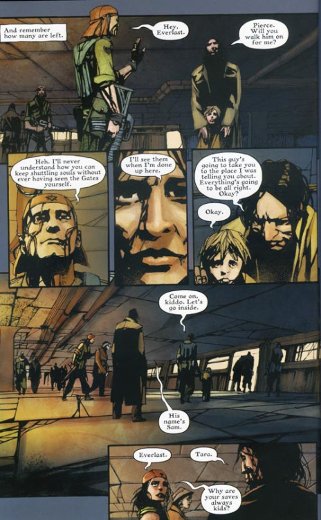 ARCHAIA PANEL OF THE DAY - EVERLAST  When the world has gone to pieces sometimes the only thing keeping you going in being able to do some kind of good… no matter how small.
