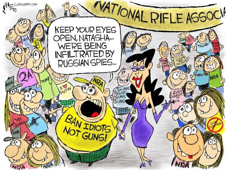 (story here) .. (cartoon by Clay Jones)