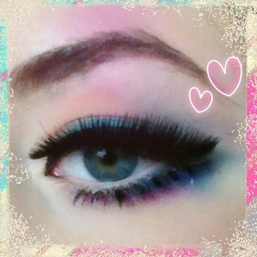 My eye #makeup! I looove candy pop like colourful colours!