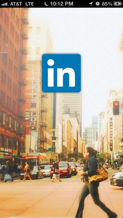 The new LinkedIn app is hot!