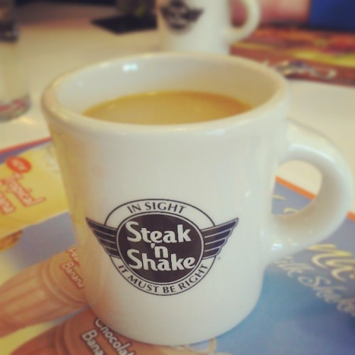 Steak'n'Shake for breakfast?! Yes, please!