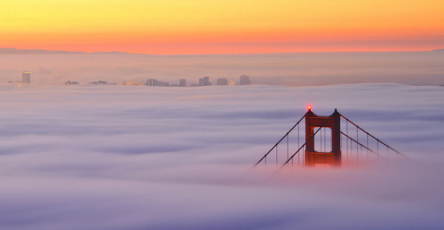 Sea of Fog by Bill Ratcliffe on Flickr.