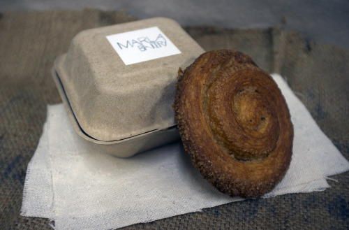 Check out this week's pastry: the Marla Bun from Marla Bakery! This sweet guy is sure to make any morning fabulous.