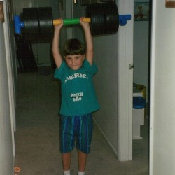 #tbt #slightlylate #MERICA! #pumpingiron #ripped