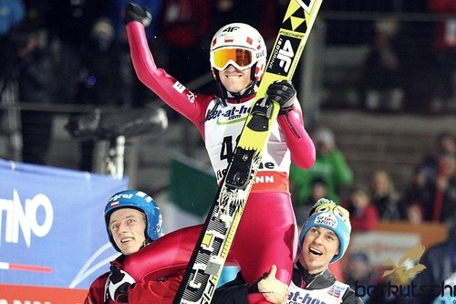 World Champion - Kamil Stoch, World Championships in Val di Fiemme (HS 134), 28.02.13 / Congrats!!!