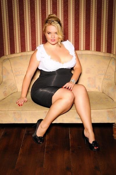 Model plu size curvy girls