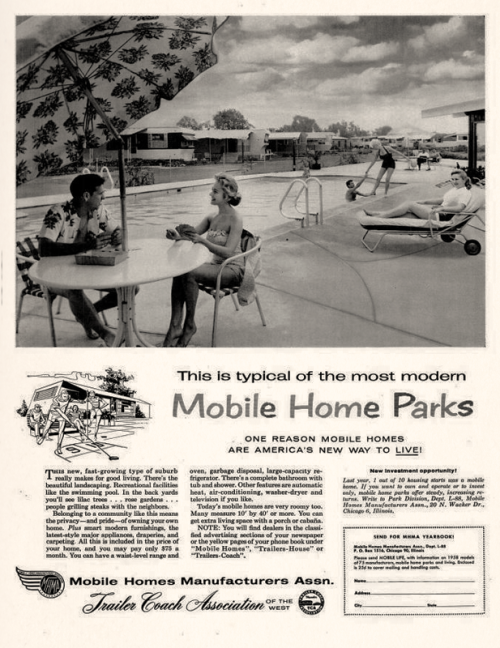 Mobile Homes Manufacturers Association, 1958