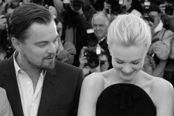 Leonardo Dicaprio and Carey Mulligan, at Cannes