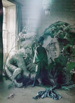 fashionchinanews:  Xiao Wen by Tim Walker