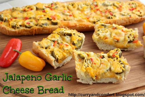 gastrogirl:  jalapeño garlic cheese bread.
