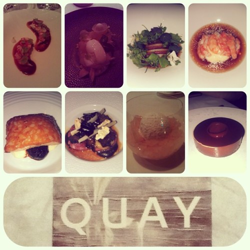 #Quay last night for anniversary!