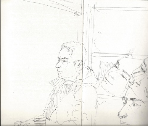 Tiago at the window, Sketchbook José Leite 2013
