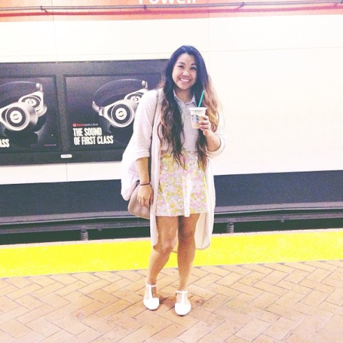 Summer Adventures Day One with @urbvnt #sanfrancisco #summer #ootd (at Powell St. BART Station)