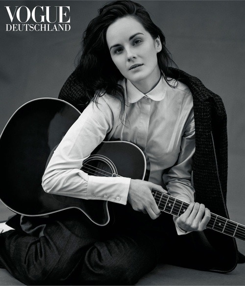 in-flagrante:  Michelle Dockery by Bruce Weber Vogue Deutschland January 2013