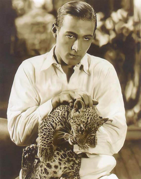 "mothgirlwings:  Happy Birthday,  Rudolph Valentino (May 6th, 1895 - August 23rd, 1926)  ""Women are not in love with me, but with the picture of me on the screen.  I am merely the canvas on which women paint their dreams."""