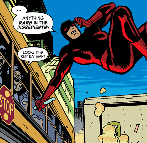 Look! It's Red Batman! Daredevil (2011) #24