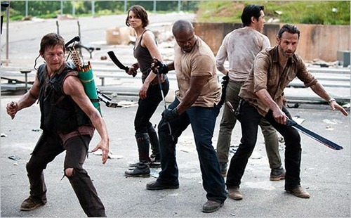 What's the most-improved TV show of 2012? The Walking Dead is at the top of our list — how about you?