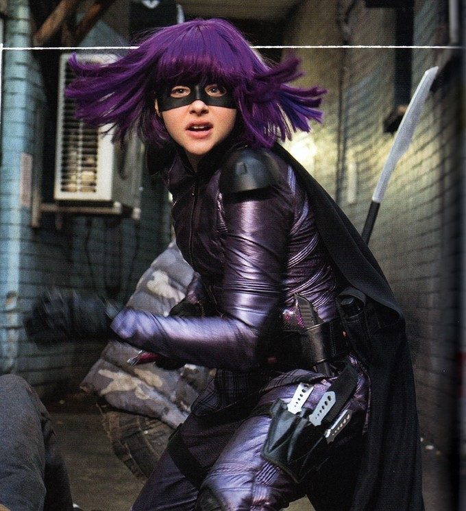 Hit-Girl from Kick Ass 2