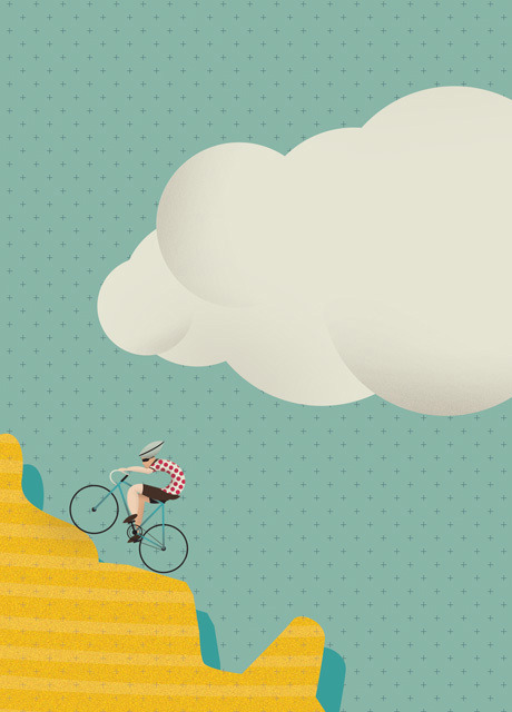 Le Tour illustration: TOM