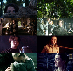 10 female characters [1/10] - arya starkfear cuts deeper than swords