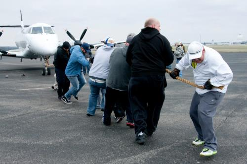 Check out awesome photos from the Hearts Take Flight Pull-a-Plane Challenge, benefiting two organizations including The Arc of Tennessee.  The event pits teams of 20 in a tug-of-war against a 97,000 pound 727 Cargo Jet. Event proceeds benefited The Arc of Tennessee and the Sports 4 All Foundation.  Check out the rest of the photos on The Arc of Tennessee's photo album, and this video from the event!