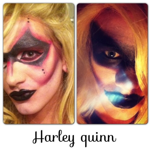 anthonyveltre:  In love with our Harley Quinn looks dats my girl #me #aloevera #sisters #nikkistyx #drag #dragqueens #harleyquinn #dark #circus #batman #dcuniverse #gothamcitysirens #centercitysirens #follow #followme @nicknaksowhack  Yes!
