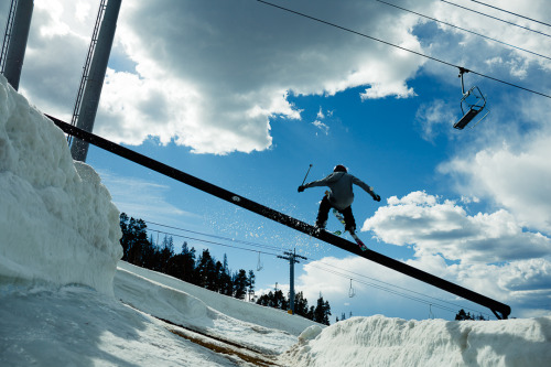 Dale Talkington. Keystone, CO with Nike ski team. ©Nate Abbott, 2012