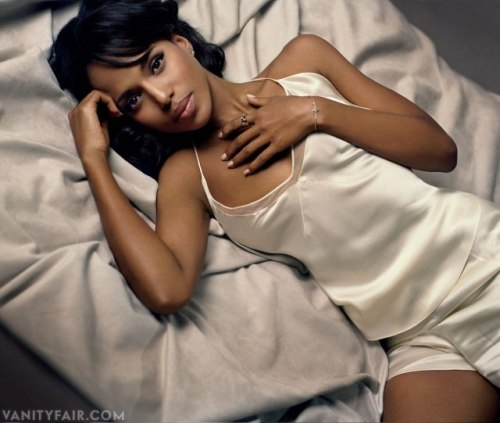 Scandal Sheets | Kerry Washington on Filming Django Unchained Photograph by Vincent Peters