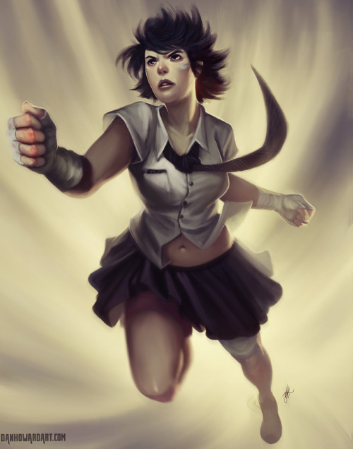 comicbookwomen:  Street Fighter time. Focusing on Makoto, Rose and Chun Li this time around. From DanHowardArt according to the pic.