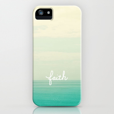 faith iPhone & iPod Case by Lisa Argyropoulos | Society6