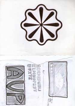 Sketchbook #80 avp & flower