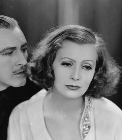sourvix:  John Barrymore and Greta Garbo, Grand Hotel — 1932
