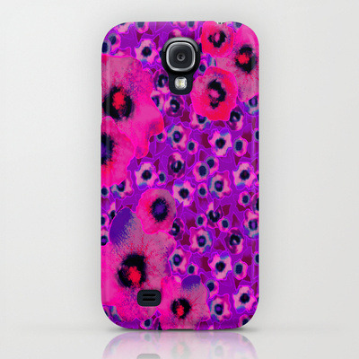 Floral Samsung Galaxy S4 Phone Cases for Mom Nina May Designs http://society6.com/NInaMay/cases