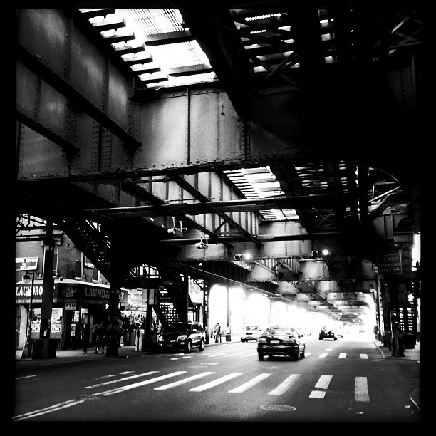 Marcy Subway (iP5) #design #location #brooklyn #cool #marcy #blackandwhite #architecture #instagood #phototag_it #instamood #style #street #cityscape  (at MTA Subway - Marcy Ave (J/M/Z))