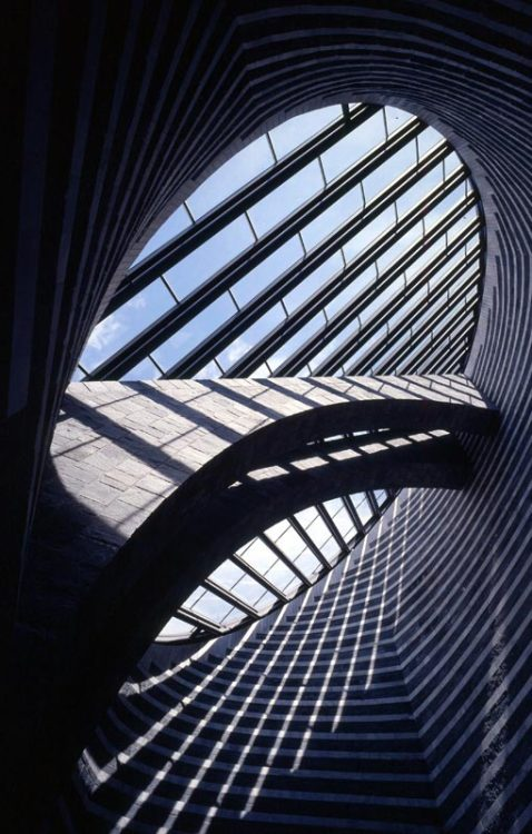 n-architektur:  Chiesa di San Giovanni Battista, Mogno Mario Botta, 1998 Photographed by Pino Musi