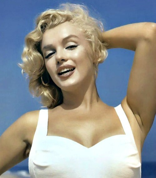 Marilyn by Sam Shaw in 1957.