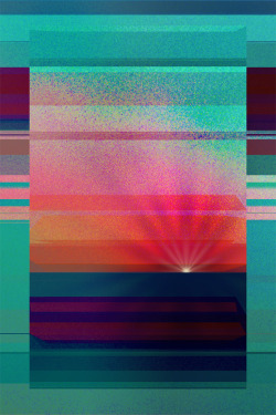 astralperception:  Binary Sunset Artwork by Tony Gaglio