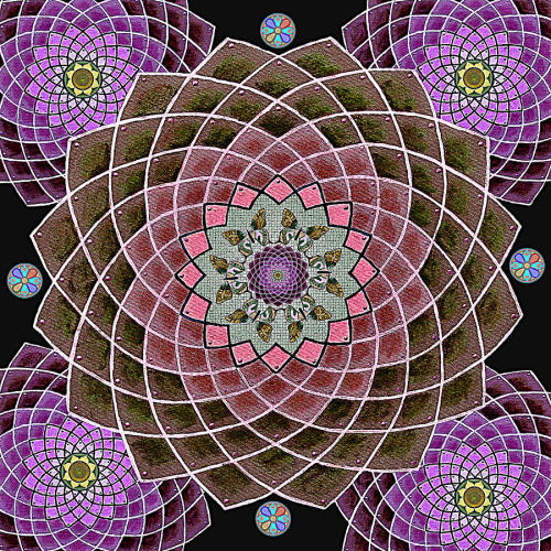 Lotus Mandala by Maya B. on fineartamerica.com