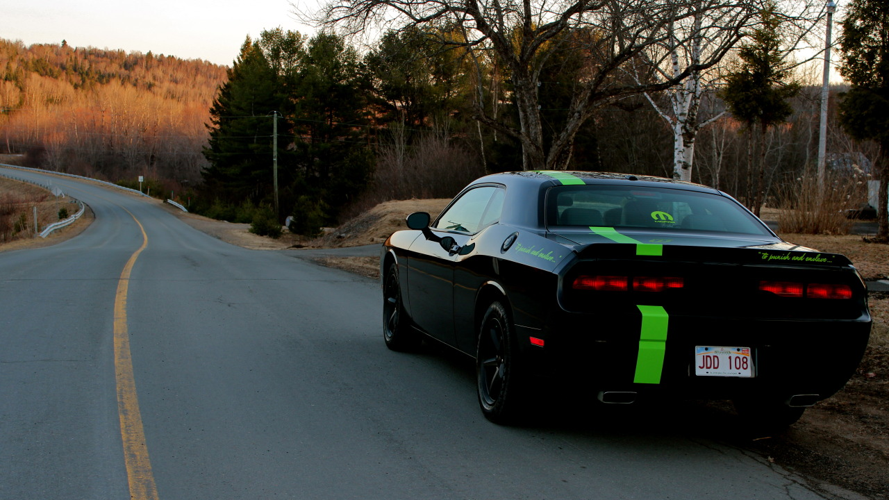 Mopar-obsession submitted: My Challenger, waiting to hit the road again.. Submission Sunday