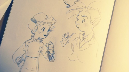 sketchuli:  My lifelong struggle to anime Spirou and Fantasio successfully