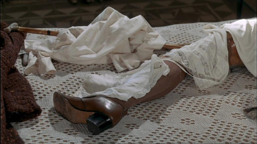 Tristana (dir. Luis Bunuel, 1970) 4/5 Luis Bunuel's compelling film, Tristana, critiques 'bourgeois sensibilities' with its melodramatic and surreal story of a young woman who is entrusted to an ageing respectable man after the death of her mother.