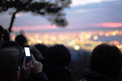 kuroyuki:  First sunrise of 2012 by sanmai on Flickr.