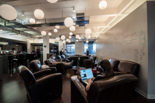 (via Awesome offices: Inside another 12 fantastic startup workplaces in New York - The Next Web)